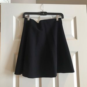 Theory Black Knit Skirt